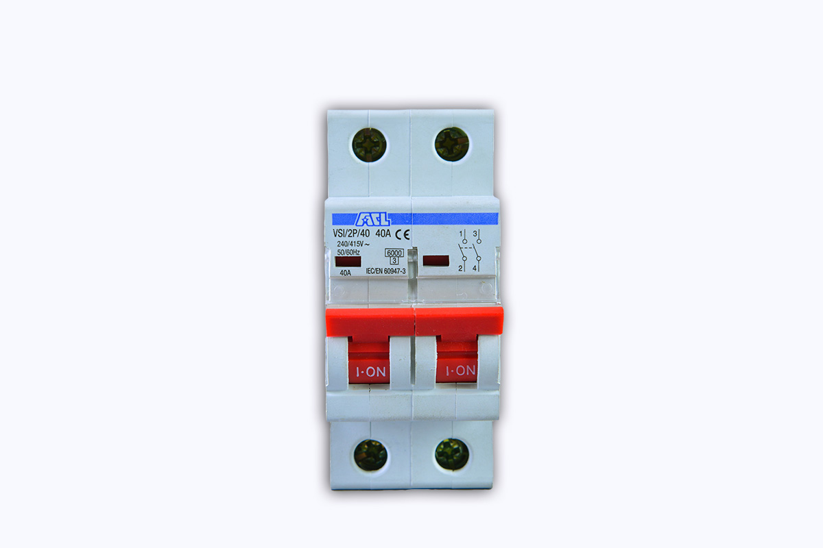 Isolator 40A double Pole